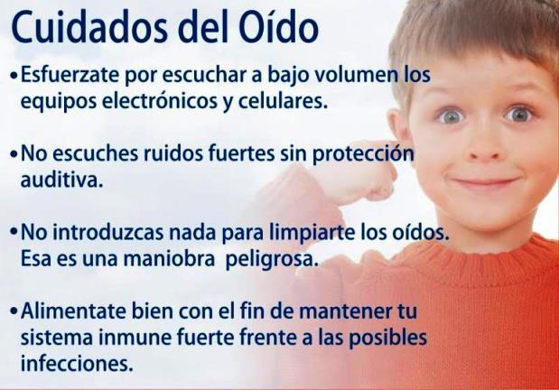 ¿Cómo cuidar el oído? Para niños
